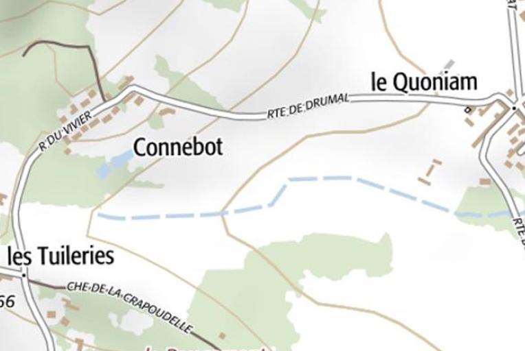 Les Tuileries, le Connebot et le Quoniam